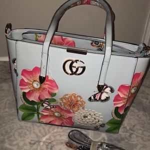 Gucci floral purse